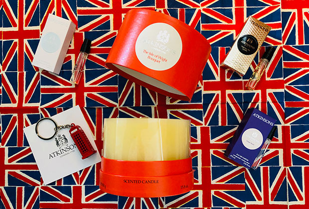 Atkinsons The Isle of Wight Bouquet Candle giveaway
