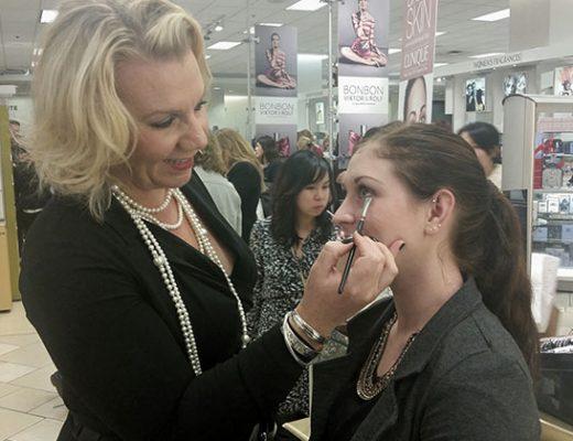 pro makeup artist Nina Westbury