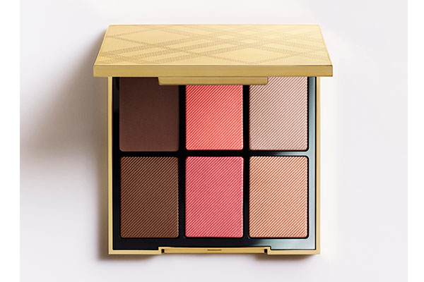 burberry essentials glow palette in medium-to-dark