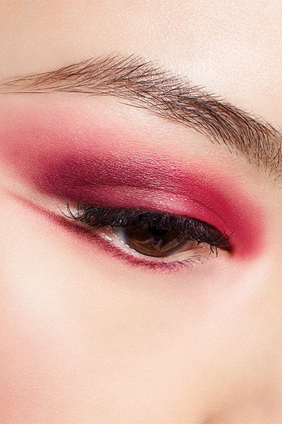 "Dior beauty look in ""Rouge Trafalgar"""