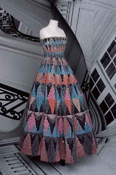 Dior haute couture look