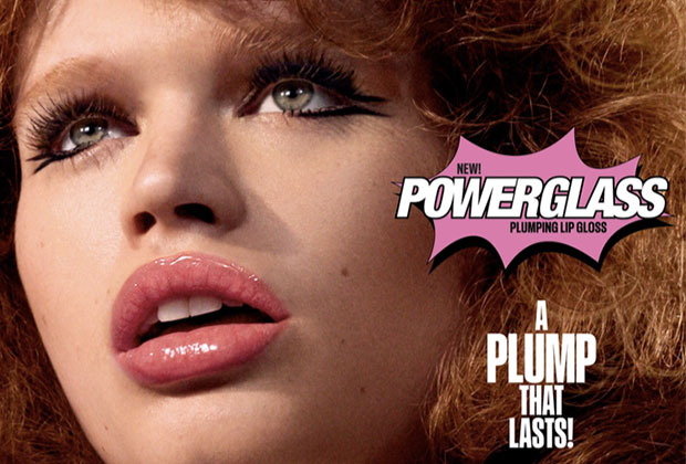 mac powerglass plumping lip gloss