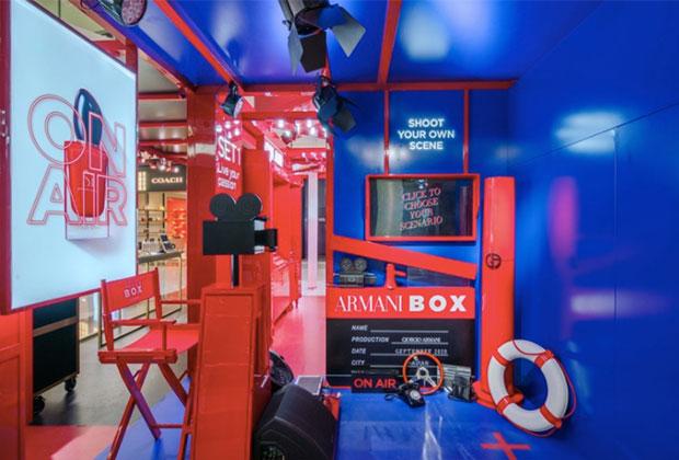 Armani Box movie studio