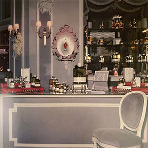 Dior Beauty Counter, 1955