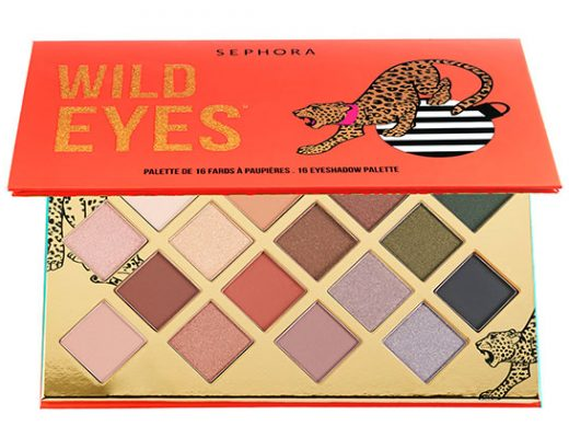 Sephora Wild Eyes 16 Eyeshadow Palette Giveaway