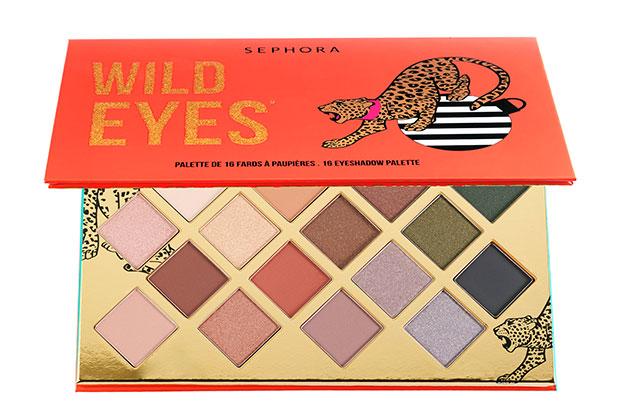 Sephora Wild Eyes 16 Eyeshadow Palette Giveaway