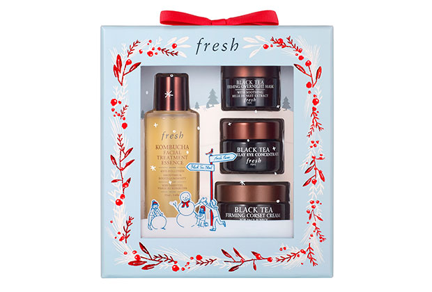 fresh black tea firming skincare set