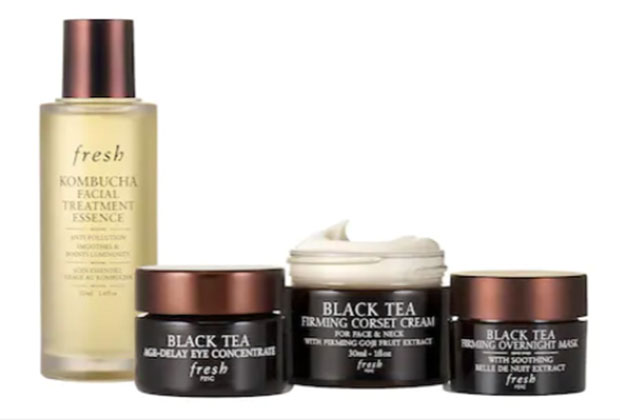 fresh beauty Black Tea Firming Skincare Set