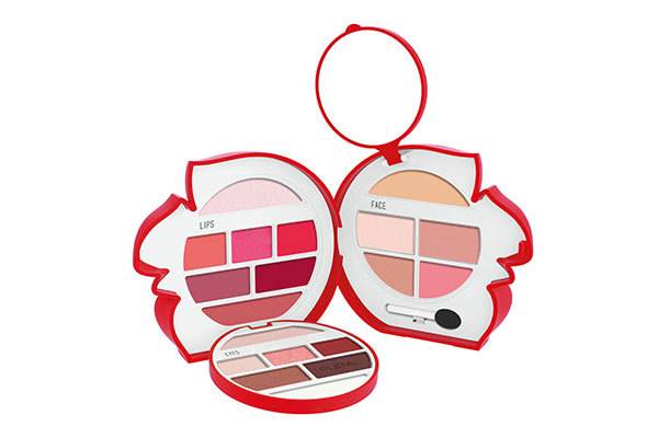 Pupa Milano Squirrel 3 for face, eyes & lips