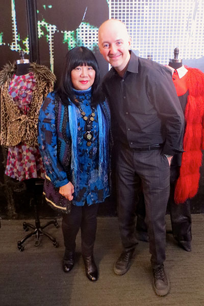 anna sui & dave lackie