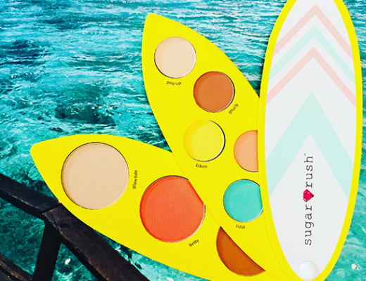 tarte cosmetics surf babe eye & cheek palette giveaway