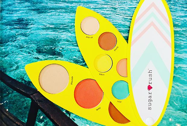 tarte cosmetics surf babe eye & cheek palette giveaway