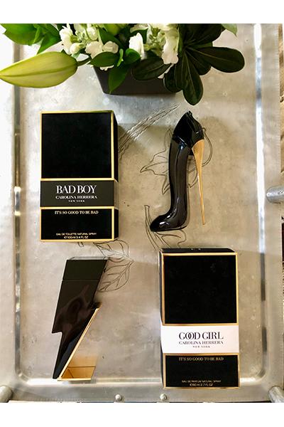 Carolina Herrera Good Girl & Bad Boy fragrance giveaway