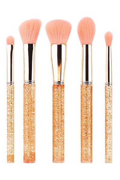 Coach x Sephora Collection makeup brushes