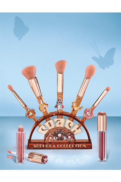 Coach x Sephora Collection Tea Rose Brush Set